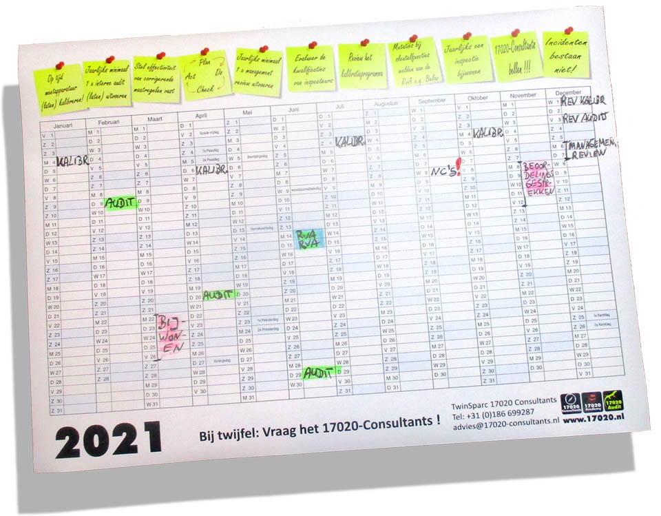 17020 wandplanner 2021